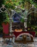 Le conte de fées chantent des penny de la chanson A un six Photos stock