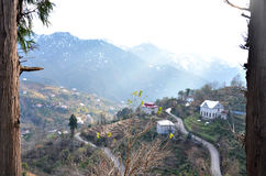 Le conte de fées en montagnes Photos libres de droits