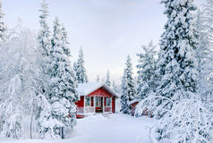 Le conte de l'hiver. Images stock