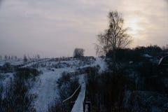 Le conte de l'hiver, un miracle de la Russie images stock