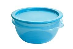Le conteneur de nourriture en plastique aiment le tupperware photo stock