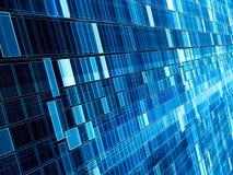 Le contexte de technologie - mur diagonal - résumé a digitalement produit de l'ima photographie stock