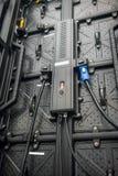 Le contrôleur d'écran de LED pour la machine industrielle images stock