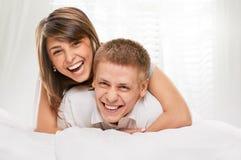 Le coppie chiudono il ritratto fotografie stock libere da diritti