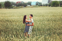 Le coppie felici Immagine Stock Libera da Diritti