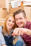 le coppie si dirigono nuovo Fotografia Stock