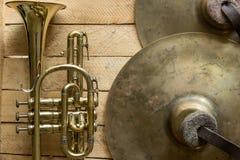 Le cornet de vintage Photo stock