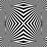 Le corps convexe monochrome de conception raye le fond Photos stock
