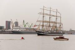 Le corse alte 2017 delle navi Immagine Stock Libera da Diritti