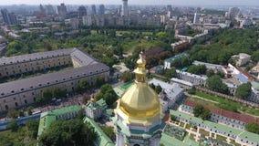 Le cortège de l'église orthodoxe ukrainienne du patriarcat de Moscou banque de vidéos