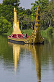 Le cortège royal de cours d'eau Photos stock
