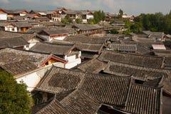 Le costruzioni in Citt? Vecchia di Lijiang Immagine Stock