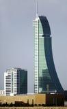 Le costruzioni commerciali finanziarie del porto del Bahrain (BFH) sono lo Immagini Stock