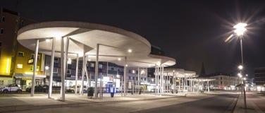 le costruzioni dentro herten la Germania nella sera Fotografia Stock