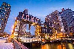 Le costruzioni di Long Island Fotografie Stock Libere da Diritti
