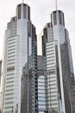 Le costruzioni moderne di Pechino Immagine Stock