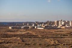 Le costruzioni nella città di Karaj Immagini Stock Libere da Diritti