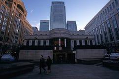 Le costruzioni più alte a Londra Immagini Stock