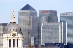Le costruzioni più alte a Londra Fotografie Stock Libere da Diritti