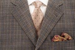 Le costume des hommes Image libre de droits