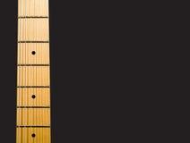Le cou de la guitare Photographie stock