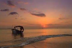 Le coucher de soleil Images stock