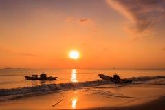 Le coucher de soleil Image libre de droits