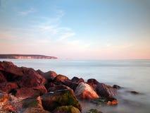 Le coucher du soleil d'aiguilles bascule 2 Photo stock