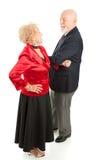 le couple danse l'aîné Images stock