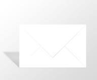 Le courrier, enveloppent, message Images stock