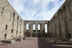 Le couvent de Pirita ruine Tallinn Estonie Image libre de droits