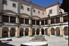 Le couvent du monastère catholique du Christ dans Tomar, Portuga Photo stock