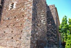 Le couvent médiéval de St Francis à la colline dans Paterno sicily Photographie stock