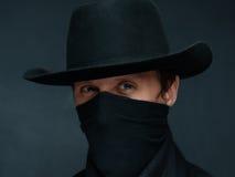 Le cowboy vous regarde images libres de droits