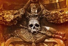 Le crâne Photos libres de droits