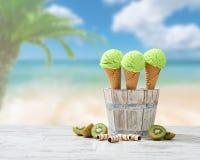 Le crème Image stock