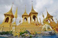 Le crématorium royal d'or le plus beau dans le monde Photos stock