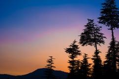 Le crépuscule Photographie stock libre de droits