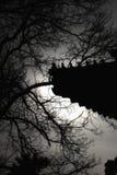Le crépuscule d'interdit Image stock