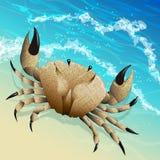 Le crabe Photo stock
