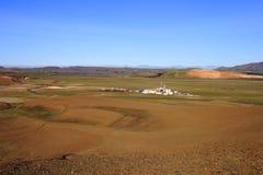Le cratère de Viti Photos stock