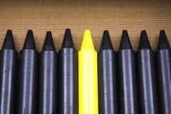 Le crayon le plus lumineux dans le cadre Images libres de droits