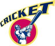 Le cricket folâtre le batteur de joueur Images stock