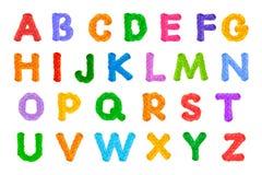 Le crochet d'alphabet sur le ` s, vacances de nouvelle année, a isolé le fond blanc photos stock