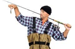 Le crochet du pêcheur Photo libre de droits