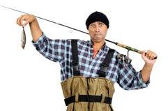Le crochet du pêcheur Photos stock
