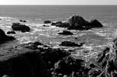Le Croisic Segla utmed kusten Arkivbild