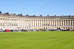 Le croissant royal à Bath Angleterre Image libre de droits