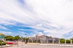 LE CUBA, LA HAVANE - 5 MAI 2017 : Vue de Castillo de la Real Fuerza Copiez l'espace pour le texte Photo libre de droits