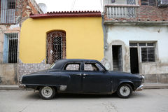 Le Cuba, Trinidad, Oldtimer Image libre de droits